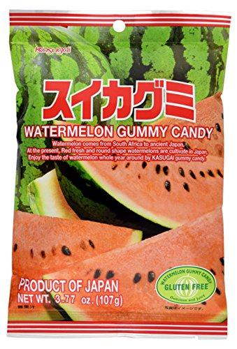 Kasugai Watermelon Gummy Candy 3.77oz