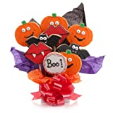 Halloween Cookie Bouquet- 9 Pc Bouquet