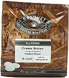 Baronet Coffee Creme Brulee Medium Roast (140 g), 18-Count Coffee Pods