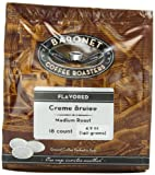 Baronet Coffee Creme Brulee Medium Roast (140 g), 18-Count Coffee Pods