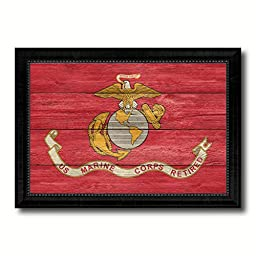 US Marine Corps Retired Military Texture Flag Art Gifts Office Wall Home Decor Bedroom Livingroom Masteroom Gameroom ManCave Bar Housewarming 19\