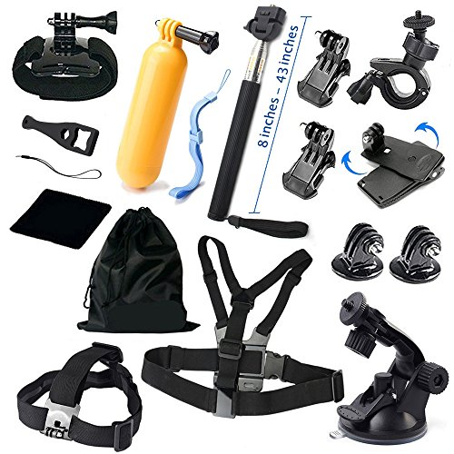 Elvorax Basic Common Outddor Sports Kit for Video Cameras, 13 items (Filming Accesories compare prices)