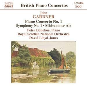Piano Concerto No. 1;  Symphon
