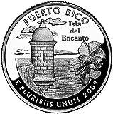 2009 P Mint Puerto Rico Quarter Coin UNC