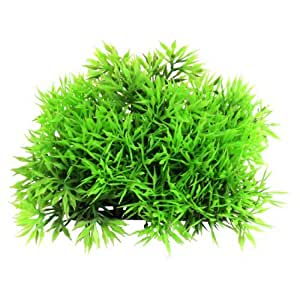 Green Plastic Underwater Flowers Plants 1.8Height for Aquarium Fish Tank