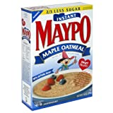 Maypo Oatmeal Maple Instant Hot Cereal, 14 oz (Pack of 6)