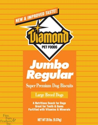 Diamond Pet Foods Diamond Jumbo Regular Dog Biscuits 20lb