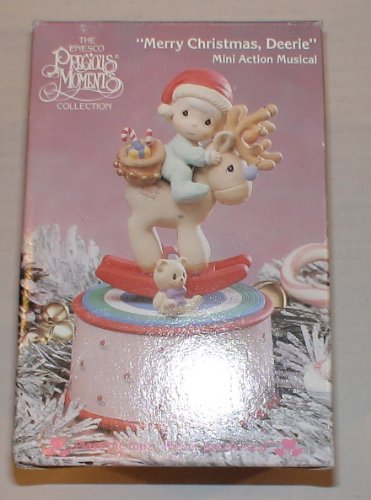 Precious Moments 'Merry Christmas Deerie' Vintage Action Musical