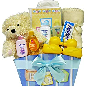 It's A Girl! or It's A Boy! New Baby Gift Basket