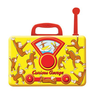Schylling Curious George Tin Music Radio - 1