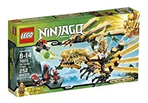 LEGO Ninjago The Golden Dragon 70503, ninjago, arena, games, lego, trains, minifigures, youtube bébé, nourrisson, enfant, jouet