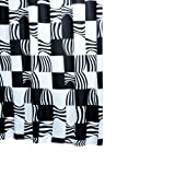 Ridder Swing 423700-350 Shower Curtain Textile Black