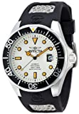 Invicta Men's 11753BYB Grand Diver Automatic White Dial Polyurethane Watch