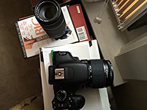 Canon EOS Rebel T3i 18 MP CMOS Digital SLR Camera with EF-S 18-135mm Lens + EF-S 55-250mm IS Telephoto Zoom Lens