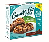 South Beach Diet Good To Go Bars, Extra Protein, Chocolate Chip, 1.34 Ounce, 5 Count (Pack of 8)