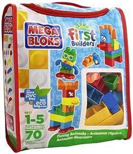 Mega Bloks First Builders Animales Divertidos por MEGA Bloks