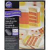 Wilton 2105-4630 Easy Layers Cake Pan Set