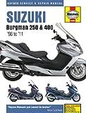 Suzuki Burgman 250 & 400 Scooters 1998-2011 Haynes Manual