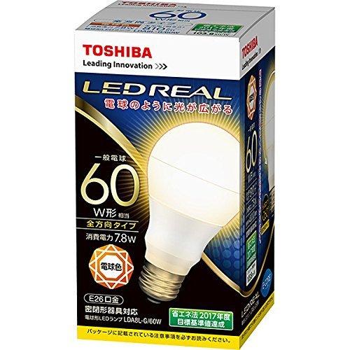 LDA8L-G/60W [電球色]