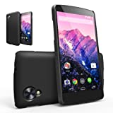 [BETTER GRIP] RINGKE SLIM® Google Nexus 5 Case [SF MATTE BLACK] SUPER SLIM + SF DUAL COATED + PERFECT FIT Anti-Slip Surface Premium Hard Case Cover for Google Nexus 5 [ECO Package]
