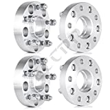 ECCPP 4PC 1.25THICK 5x5(5x127 MM) to 5x5 Hub Centric Lip 71.5 MM Hub Centric Wheel Spacers Adapters for 2011 2012 2013 2014 Jeep wrangler Rubicon Sahara Sport Jeep Grand Cherokee Laredo Limited Overland With 1/2 X 20 LUGS