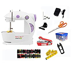CreativeVia Ming Hui Mega 30in1 Fully Loaded Portable & Compact Mini Sewing Machine (6 Months Replacement Warranty)
