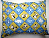 Crib / Toddler Baby Pillow Case - Percale Pillow Sham - Star Light Snoopy - Made In USA