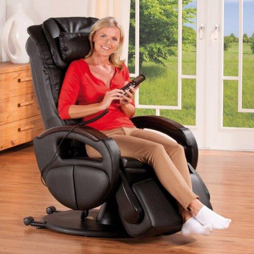 Massagesessel Komfort in schwarz
