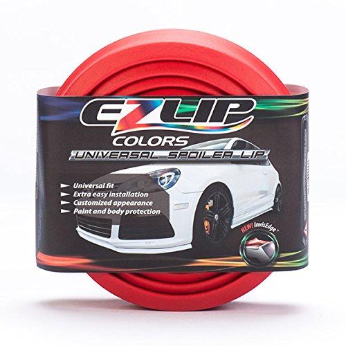 EZ Lip Colors Universal Spoiler (Red) (Honda Civic 2013 Lx Accessories compare prices)