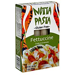 Notta Pasta Fettuccine, 16-Ounces (Pack of 6)