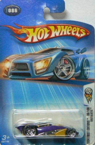 Hot Wheels 2004 First Editions Brutalistic #086 Alternate Card
