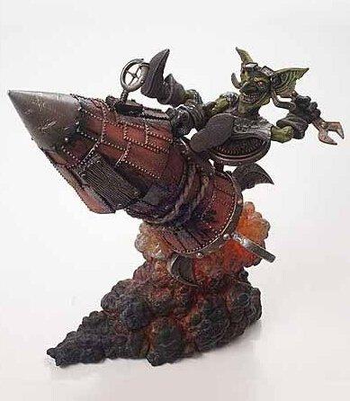 World of Warcraft Figure WOW Goblin Tinker Gibzz Sparklighter Action Figure Series 6