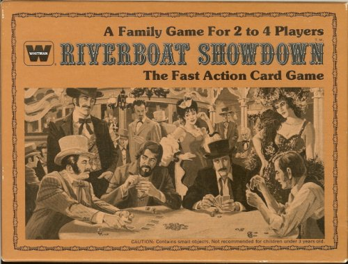 Riberboat Showdown - The Fast Action Card Game - 1