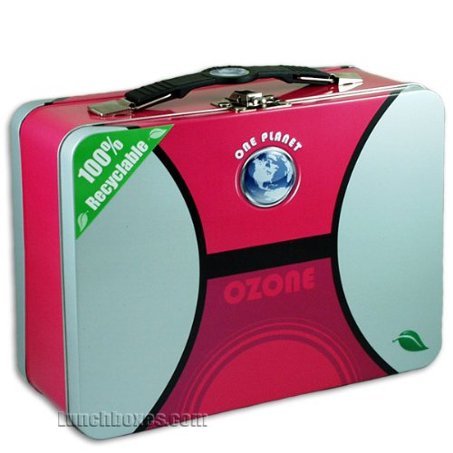 1 X One Planet 100% eco friendly recyclable XL Lunchbox - Assorted colors - 1