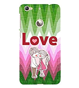 EPICCASE first kiss Mobile Back Case Cover For LeEco Le 1s Eco (Designer Case)