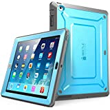 iPad Case, SUPCASE [Heavy Duty] Apple iPad Case [Unicorn Beetle PRO Series] Full-body Rugged Hybrid Protective Case Cover with Built-in Screen Protector for the New iPad 4 & 3 (3rd and 4th Generation with Retina Display) / iPad 2, Dual Layer Design + Impact Resistant Bumper (Blue/Black)