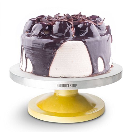 Amazing 360 Degree Rotating Cake Stand. The Perfect Pedestal Cake Decorating Turntable By Product Stop (Revolving Pedestal compare prices)