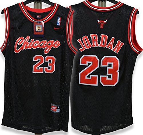 Michael Jordan Chicago Bulls 1984 Throwback Black Jersey