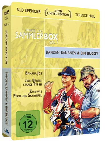 Bud Spencer & Terence Hill Sammlerbox Vol. 3: Banden, Bananen und ein Buggy (3 DVDs) [Limited Edition]