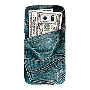 Ajay Enterprises Full Dollar Jeansoy Back Case Cover for Samsung Galaxy S6