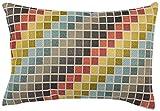 Urban Loft by Westex Tetris Cushion, 14 x 20-Inch