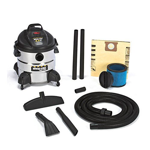 Shop-Vac 5-1/2 HP, 8-Gallon, The Right Stuff Industrial Wet/Dry Vac - 5866110 (Shop Vac Hose Storage compare prices)