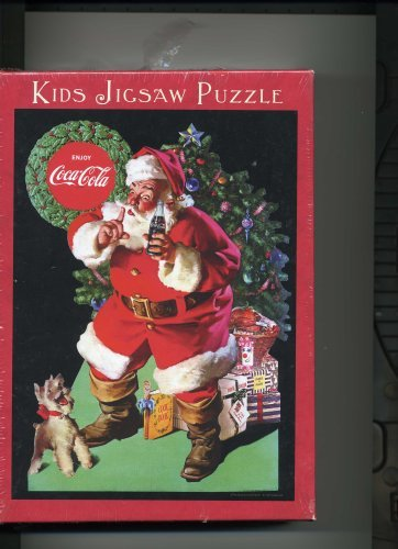 Coca Cola/Santa Claus 60 Piece Kids Jigsaw Puzzle - 1
