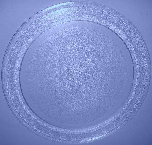 Mikrowellenteller / Drehteller / Glasteller für Mikrowelle # ersetzt Philips Mikrowellenteller # Durchmesser Ø 35,5 cm / 355 mm # Ersatzteller # Ersatzteil für die Mikrowelle # Ersatz-Drehteller # OHNE Drehring # OHNE Drehkreuz # OHNE Mitnehmer