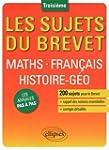Maths Fran�ais Histoire-G�o Troisi�me...
