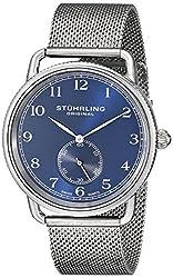 Stuhrling Original Analog Blue Dial Mens Watch - 207M.03