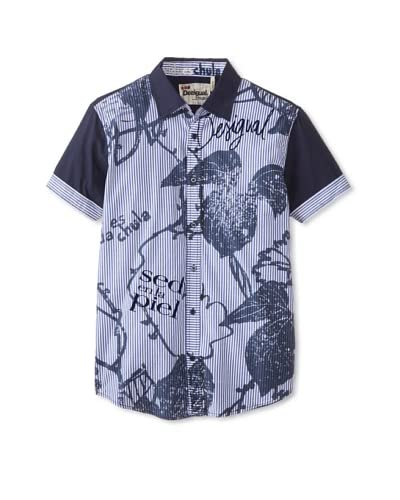 Desigual Men's Toni Short Sleeve Woven Shirt