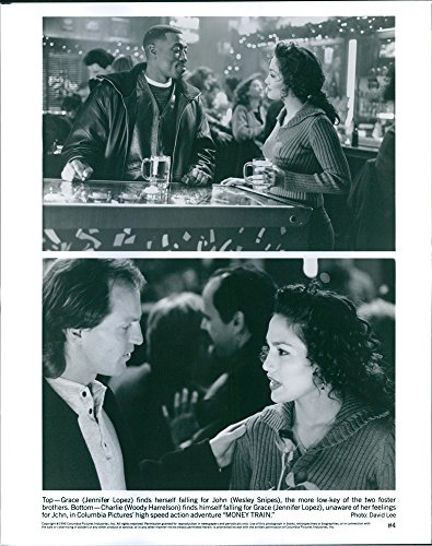 vintage-photo-of-scenes-from-the-film-money-train-with-jennifer-lopez-wesley-snipes-and-woody-harrel