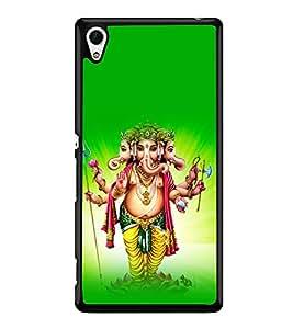 printtech Lord God Ganesha Back Case Cover for Sony Xperia Z4 , Sony Xperia Z4 E6553