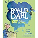 Boy Audiobook by Roald Dahl Narrated by Dan Stevens